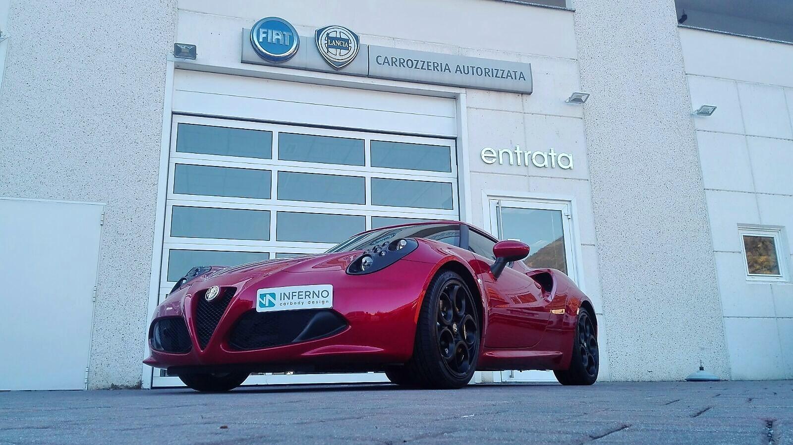 trattamento nanotecnologico Alfa Romeo esterno