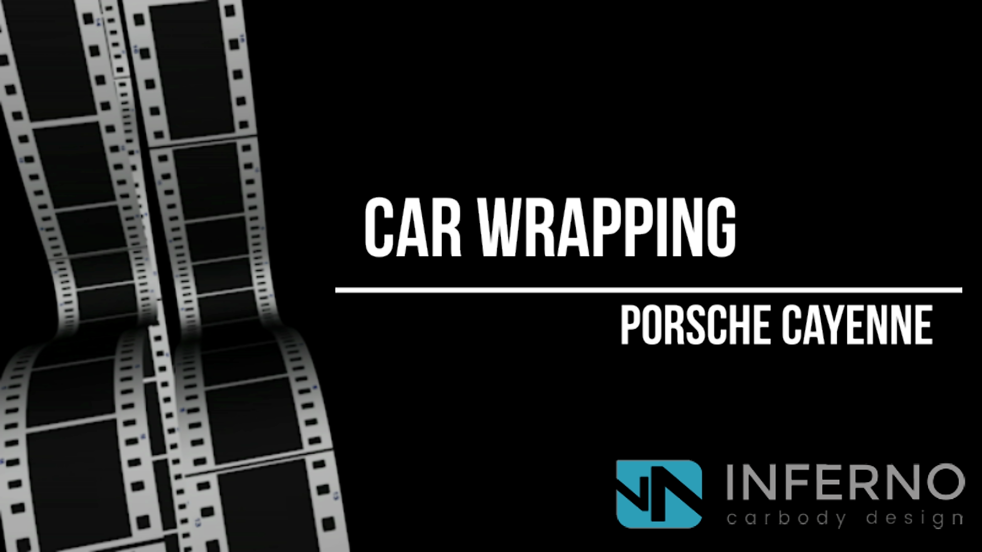 CAR WRAPPING Porsche